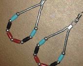 Zuni Turquoise Sterling Silver Earrings
