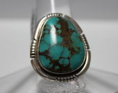 Kingman Turquoise and Sterling Silver Ring