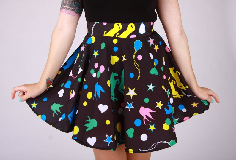 Magical Luna Circle Skirt image 0