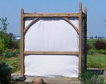 Wall Kit for Standard Size Sukkah Frames, Natural Fiber, Kosher