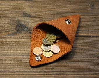Coin triangle purse