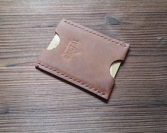 Leather card holder (Collection BRUTAL)
