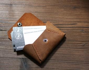 Leather business/card holder (Collection BRUTAL)