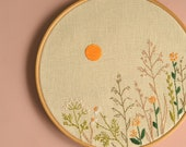 Wildflowers embroidery • Embroidery pattern • PDF • Hand embroidery • Instant Download • Dried Flowers • NaiveNeedle
