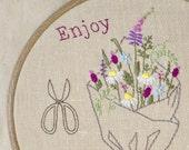 Hand Embroidery patterns • PDF • wildflowers hoop art • NaiveNeedle