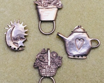 Pewter pendants etsy destash pewter pendants pins aloadofball Images