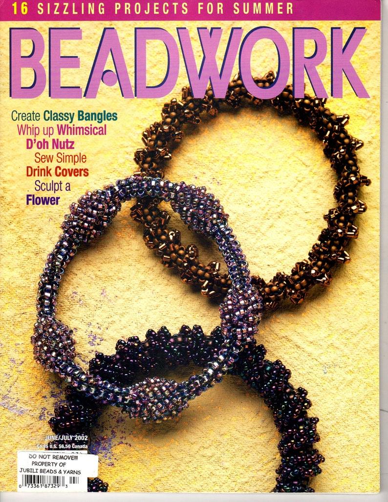 Destash Beadwork Magazine Whole Set 2002