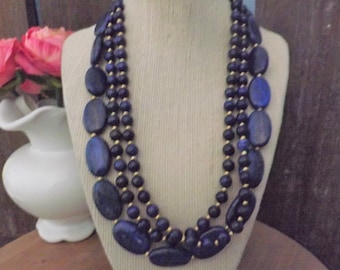 Blue Jewelry     Luxury Jewelry   BOHO Jewelry   Lapis Lazuli Jewelry   Beaded Jewelry   Handmade Jewelry   Jewelry Gift   Sterling Silver