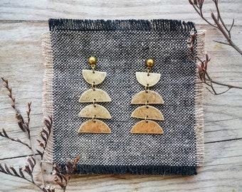 UDI Luna Brass Earrings
