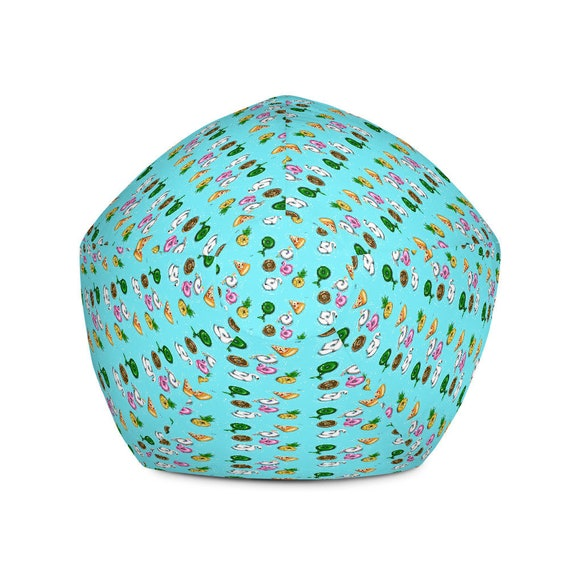 Marvelous Summer Fun Home Deco Beach Pool Floaty Unicorn Flamingos Pineapple Donut Bean Bag Chair W Filling Caraccident5 Cool Chair Designs And Ideas Caraccident5Info