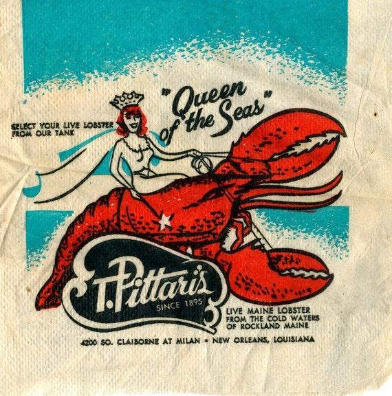 T. Pittari\'s Restaurant New Orleans Coaster