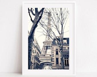 Paris wall art prints, black and white prints, Paris photography prints, neutral wall art, Paris prints, Eiffel tower, extra large wall art