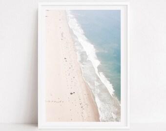 Aerial beach prints, extra large wall art, aerial beach photography, wall art canvas art, turquoise art, ocean, beach prints, beach prints