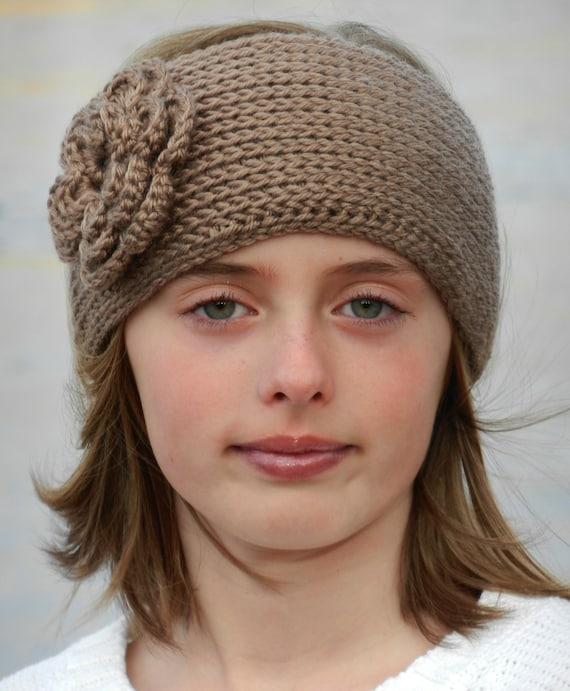 Tunisian Knit Look Crochet Headband Pattern With Etsy
