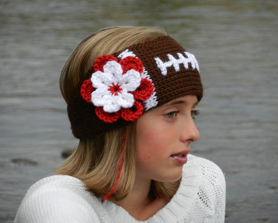 Crochet Football Headband Pattern  1e0f9bcc700
