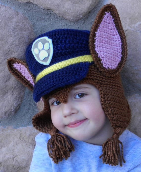 Crochet Chase hat