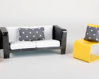 Revamped Colorful and Stylish Brbie Living Room Set