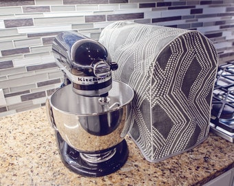 Stand Mixer Cover - KitchenAid Stand Mixer Protector - Mixer Cozy Kitchen Decor - Dust Cover Home Decor - Appliance Cover - Monogram Option