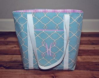 Medium Tote Bag - Women's Tote - Purse - Bag - Custom Tote - Shoulder Bag - Custom Bag - Book Bag - Pocket - Teacher Gift - Monogram Option