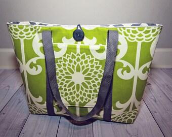 Large Tote Bag - Women's Tote - Purse - Bag - Custom Tote - Shoulder Bag - Custom Bag - Book Bag - Pocket - Market Bag - Monogram Option