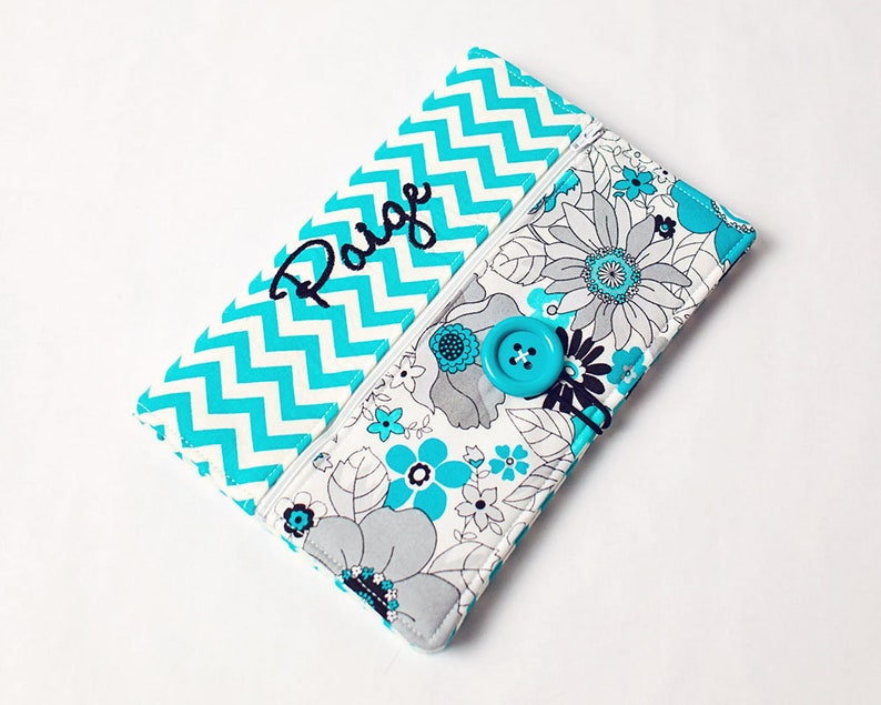 Writing Buddy  Personalized Notebook Cover  Zipper Pouch  image 0