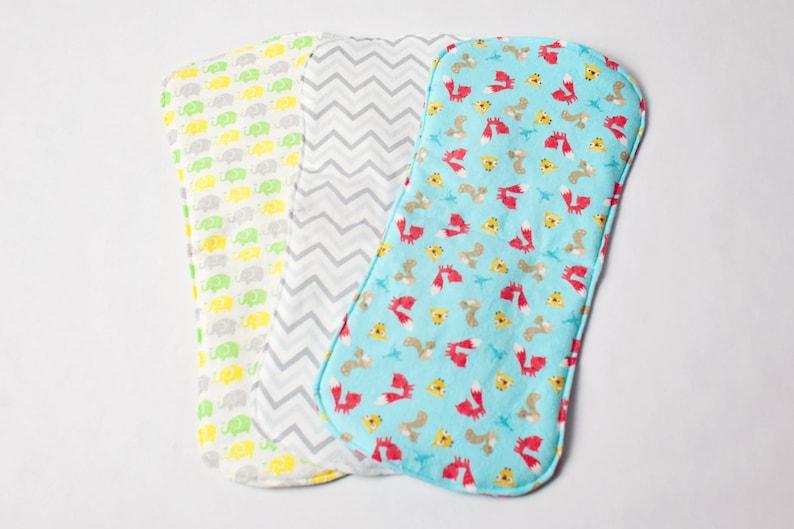 Burp Cloth  Burp Rag  Baby Gift  Baby Burp Cloth  Baby image 0