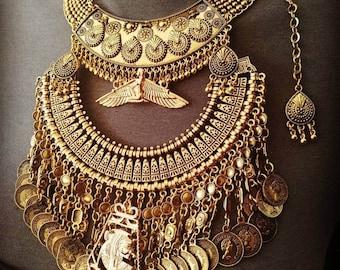 Redy tribal pieces Cleopatra Egyptian