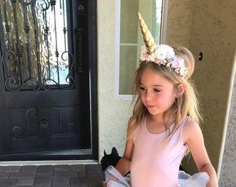 Unicorn flower crown