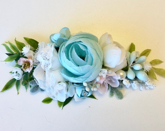 Baby Flower Crown- Flower Crown Headband-  Baby Girl headband- kids flower headband