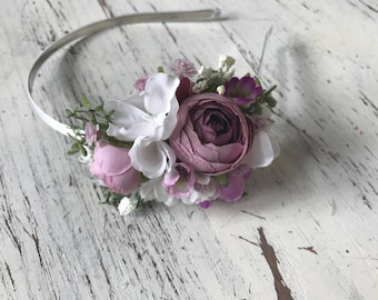 Orchid Floral headband