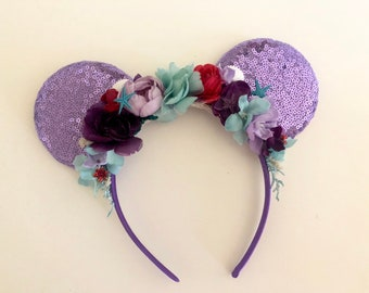 Mouse Ear/Crown Headband
