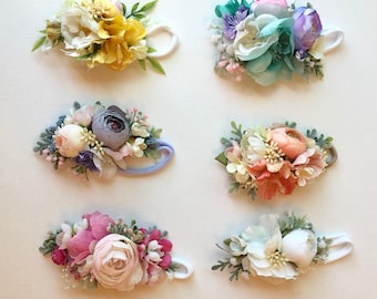 baby Flower Crown- girls flower crown headband