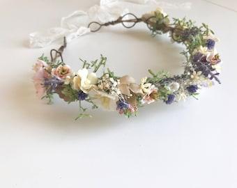 Wild Lucy flower crown
