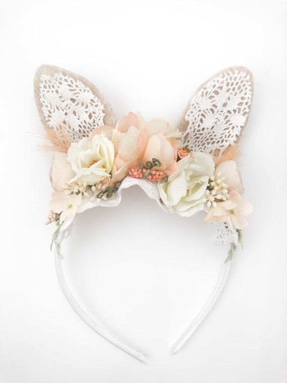 Peach Bunny Ears