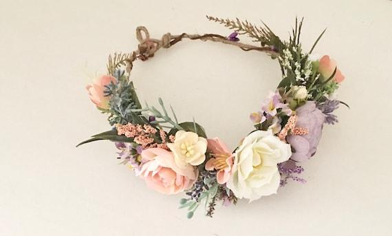 Wild flower crown