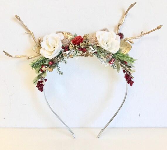 NEW  Reindeer Headband
