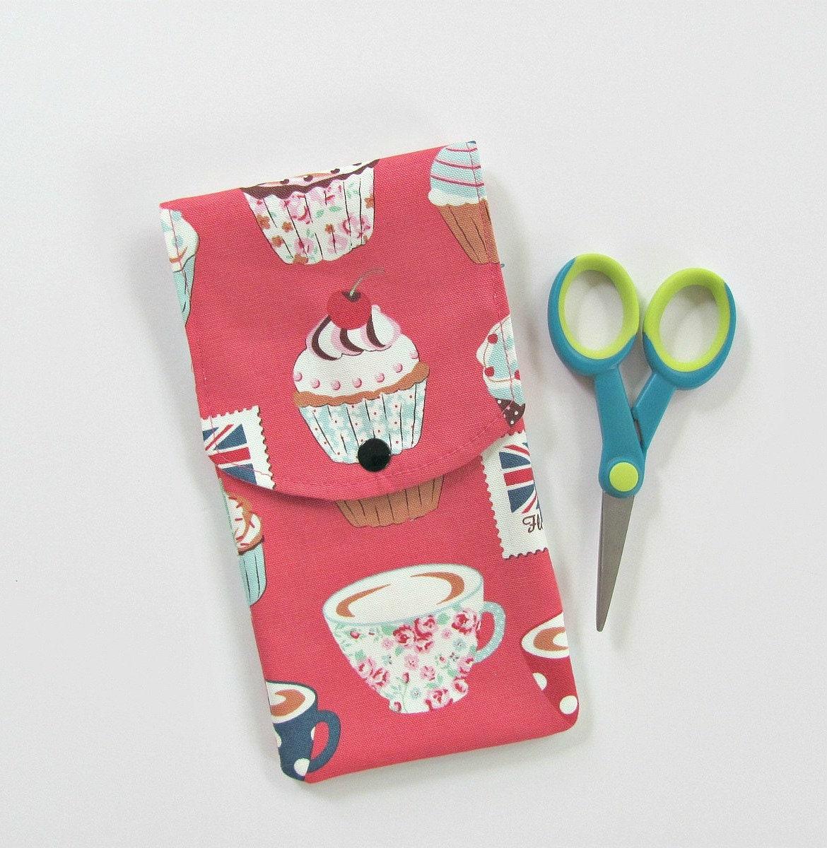 Thé et petits gâteaux de tricot cas, support crochets cas, de gâteaux  Crochet crochets b9d4eb47213