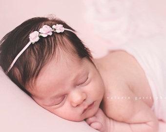 Taupe  Headband Infant Headband Baby Headband Baby Girl Headband Baby Girl Style Hairstyle Dusty Pink Headband