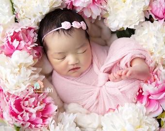 PINK BABY Headbands, Pink Headband, Photography Prop, Headbands, Infant Headbands, Newborn Headbands, Baby Headbands, Newborn Photo Prop,