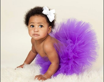 PURPLE TUTU, Tutu only, Newborn Tutu, Photography Prop, Baby Tutu, Tutus for Children, Infant Tutu, Birthday Tutu, Newborn Photo Prop