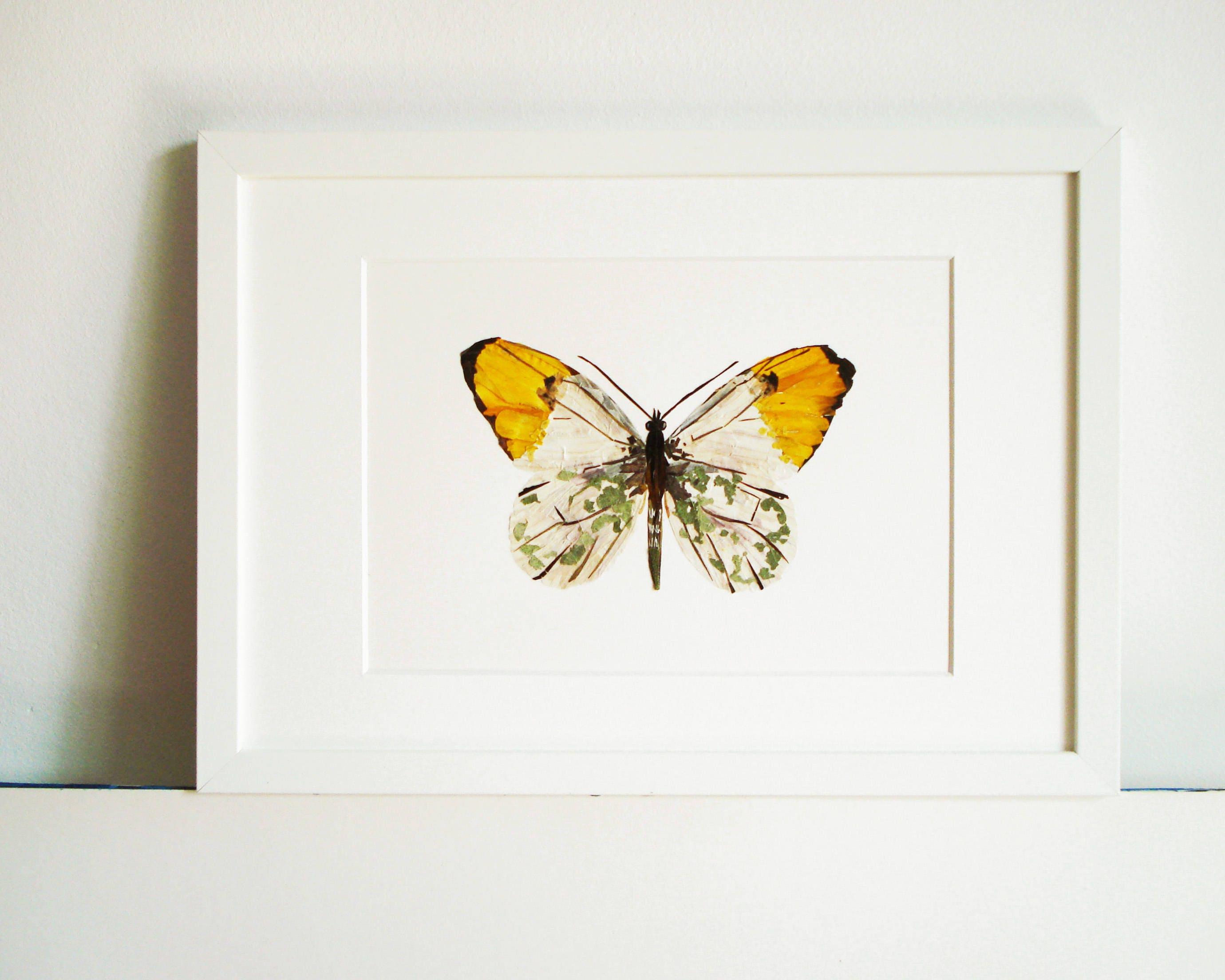 Schmetterling Wandkunst botanischen Druck Wand Dekor Druck
