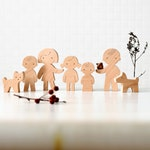 "Wooden Family dolls ""Choose Your Own Family Set"" - Waldorf Wood Figurines - Family Gift"