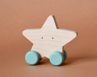 Holz Waage Spielzeug Set von 7 Baby wilde Tiere | Etsy