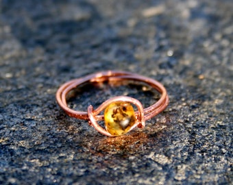 Baltic Amber Rings