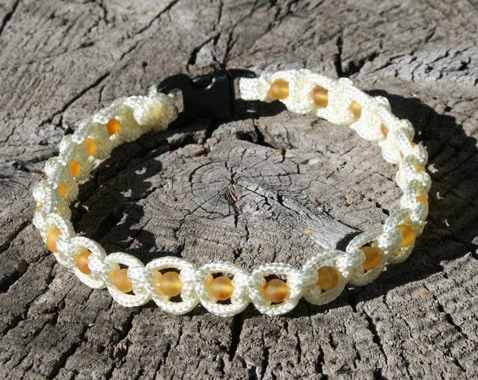 Featured listing image: Baltic Amber Pet Collar, Dog Collar, Cat Collar, Flea Collar