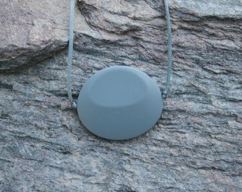 Chewable Sensory Necklace for Children with Large Oval Pendant