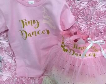Ballet tote, ballet shoes bag, tiny dancer, tote bag, dancer bag, shoe bag ,girls ballet bag, girls shoe holder, shoe bag, dancer bag
