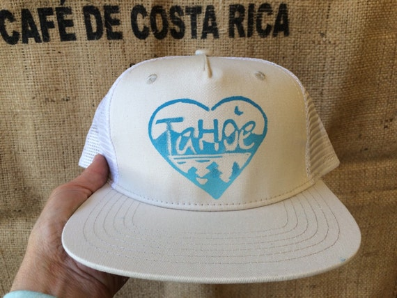 Tahoe love trucker hat