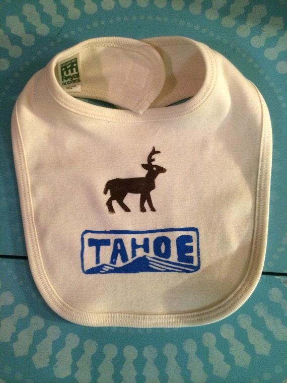 Organic cotton Tahoe baby bib