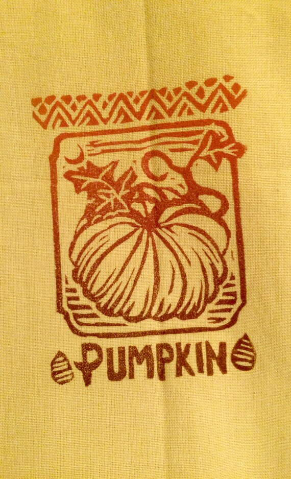 Dijon Pumpkin Tea Towel
